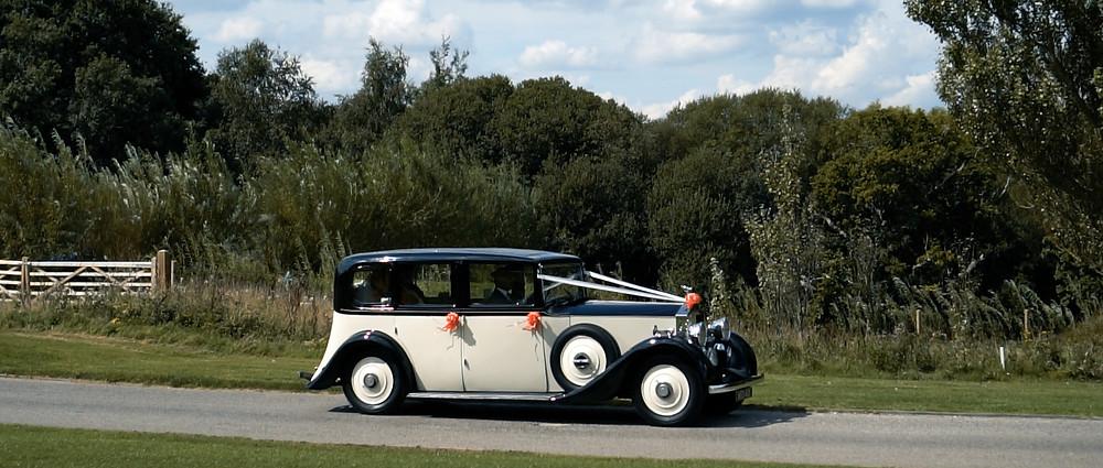 Rolls Royce at Skylark wedding - Ground Films