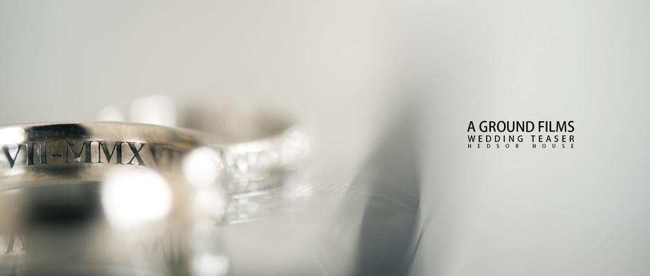 A Wedding Video Teaser at Hedsor House, Buckinghamshire.