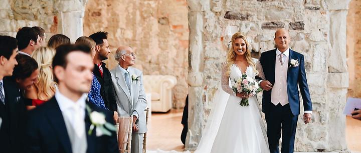 London Paleo Girl wedding   Lulworth Castle