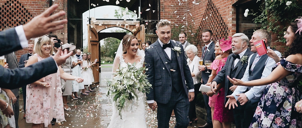 Confetti at Shustoke Barn | Ground Films