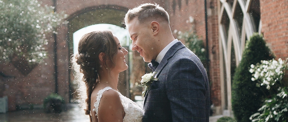 Rain couple shoot | West Sussex Wedding Videographer