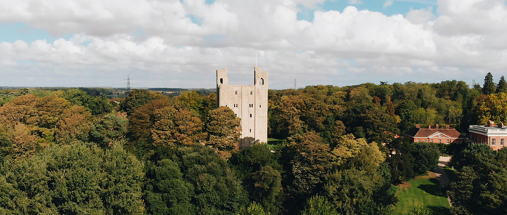 hedingham Castle wedding video | Ground Films