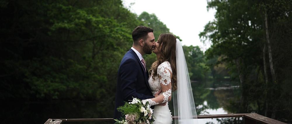 Couple shoot   Stoke Place Wedding Video