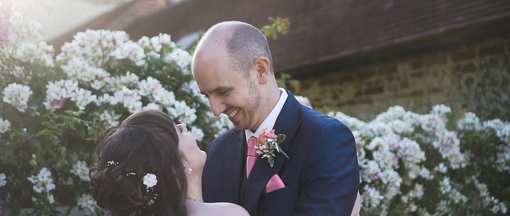 tithe barn wedding videographer | Hampshire wedding | Ground Films