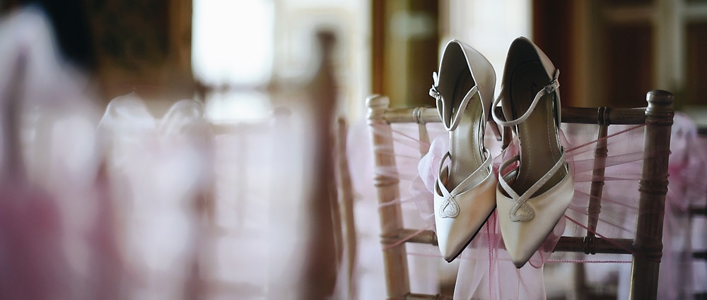 brides shoes | Avington Park | Ground Films