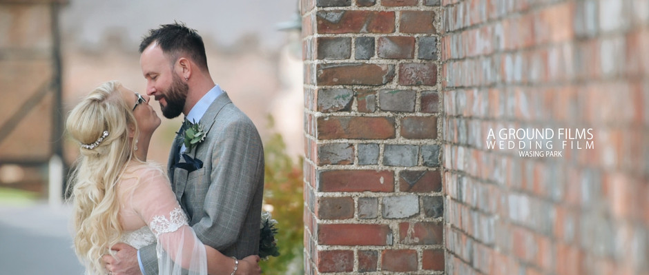 Mel and Miles's Wedding Video at Wasing Park. West Sussex Wedding Videographer