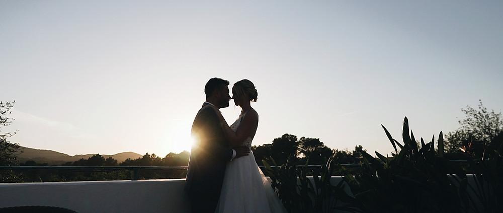 sunset Ibiza wedding video | Ground Films