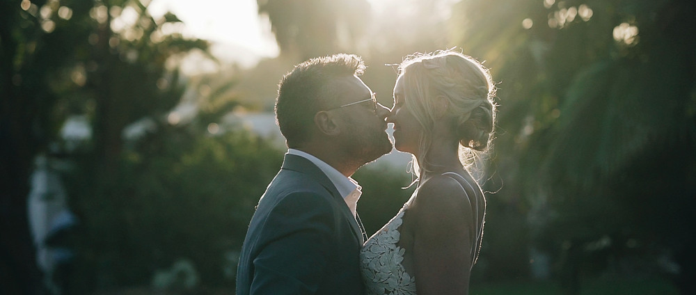 Sunset at agroturismo Can Gall | Ibiza Wedding Videographer
