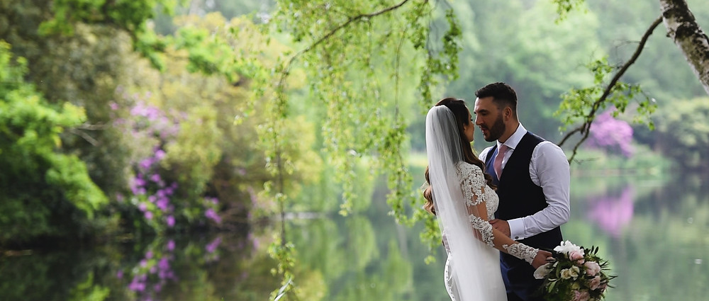 Stunning Wedding Couple | Hampshire wedding videographer
