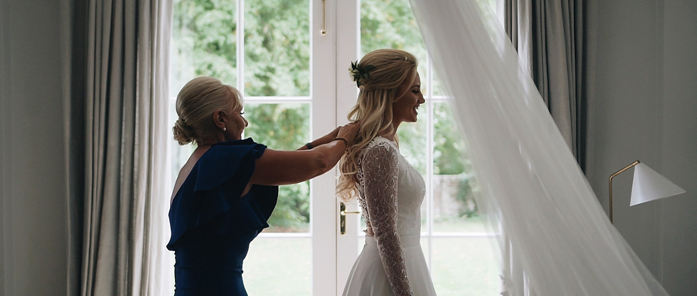 Mother and Daughter | West Sussex Wedding Videographer