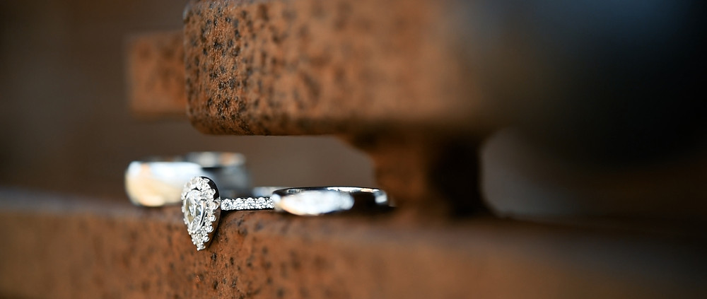 Southend Barns wedding rings - Ground Films