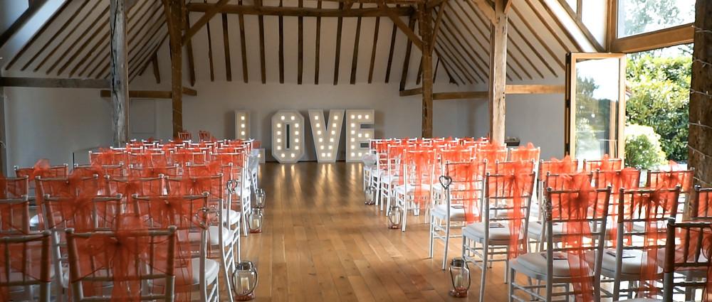 Skylark wedding video ceremony - Ground Films