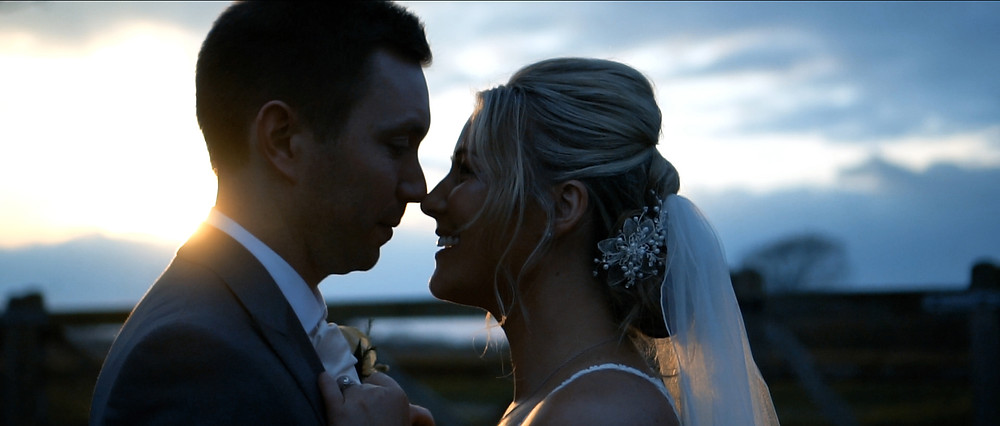 Sunset at Southend Barns | West Sussex Wedding