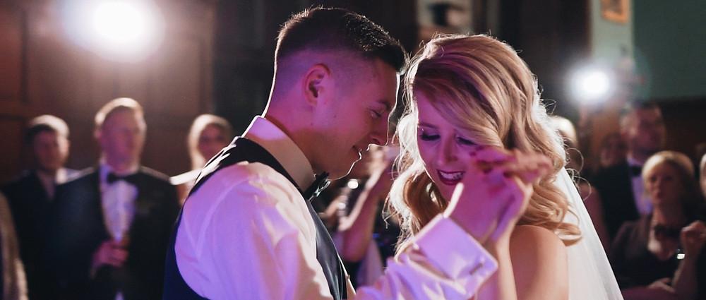 first dance   West Sussex wedding videographer   Ground Films