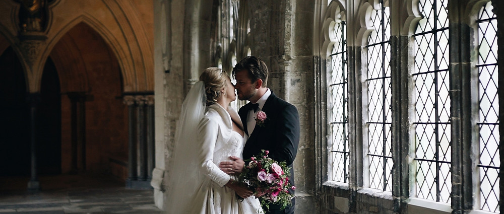 Chichester Cathedral wedding video | Ground Films