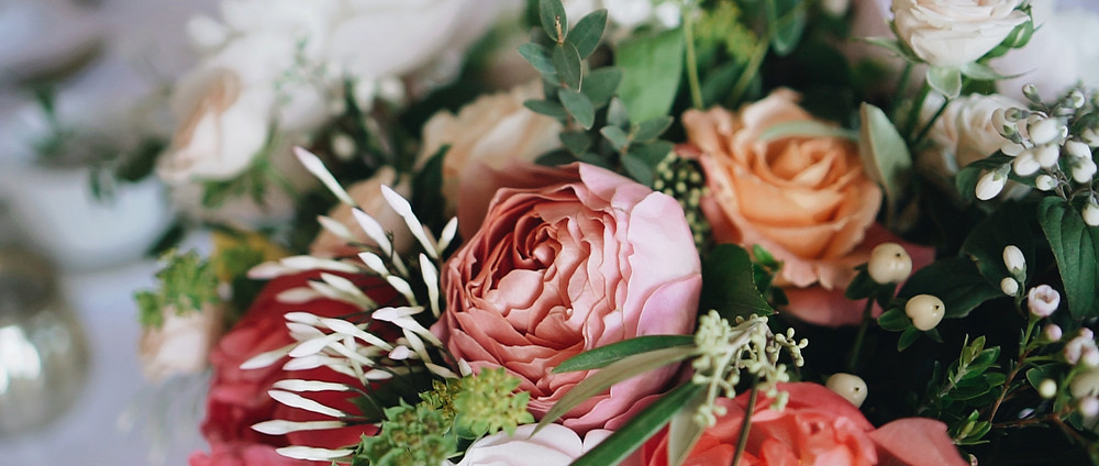 Flowers at Brympton House | Wedding Videography