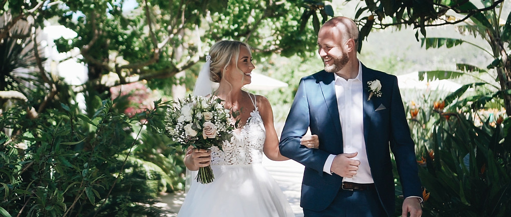 Bride and Brother | Ibiza Wedding Video
