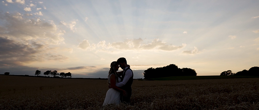 Sunset at Kingscote barn | Ground Films