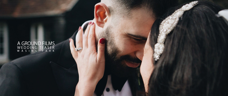 A Wasing Park Wedding Teaser | West Sussex wedding videographer