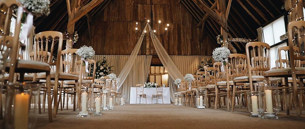 Clock Barn ceremony   Hampshire wedding videography