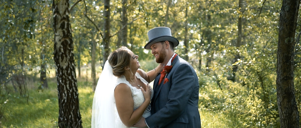 wedding videographer in Fareham - Ground Films