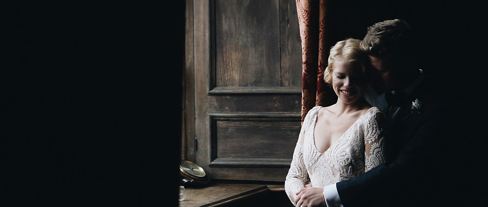 Beautiful light at Brympton House | Wedding Videographer