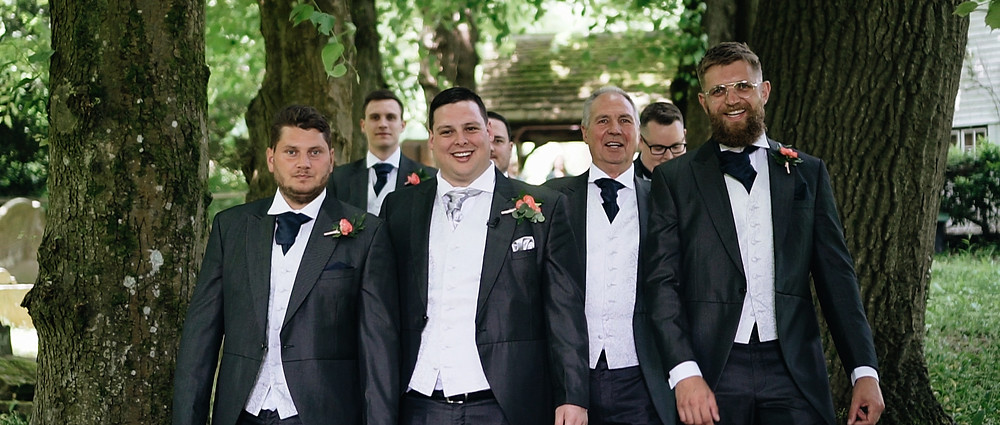 The Groomsmen | Wedding Video in West Sussex