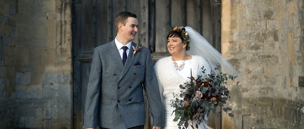 titchfield barn wedding video, Hampshire