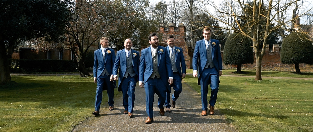 Groomsmen | Hampshire Wedding Videographer | Ground Films