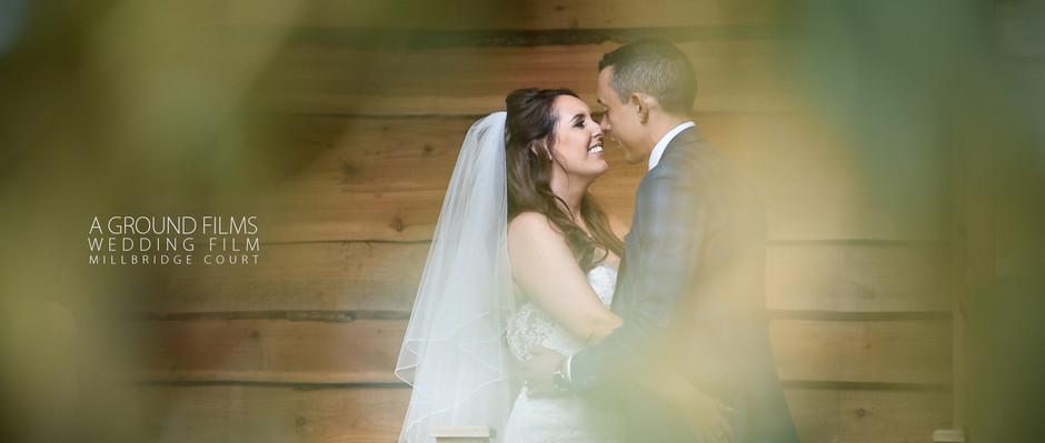 Surrey Wedding Video | Millbridge Court Boutique Barn Wedding Venue | Ground Films
