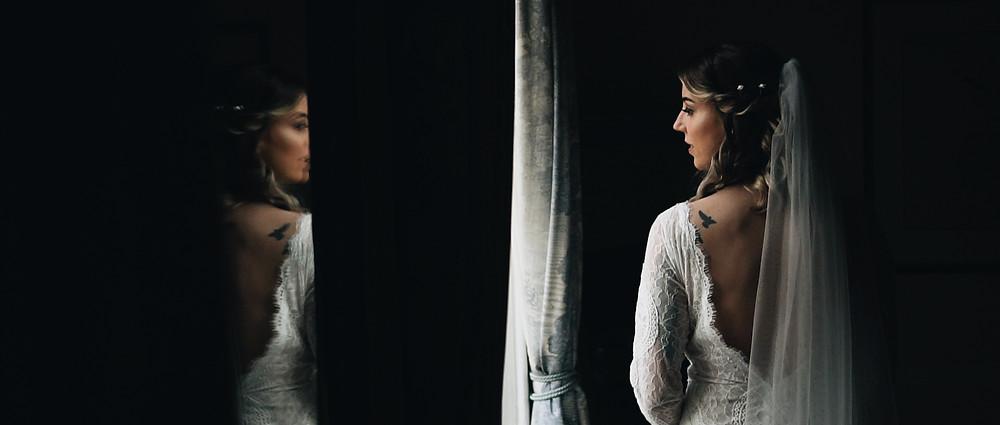 bride in her dress | Ground Films