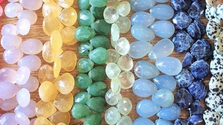 What's New: Semi-Precious Briolettes