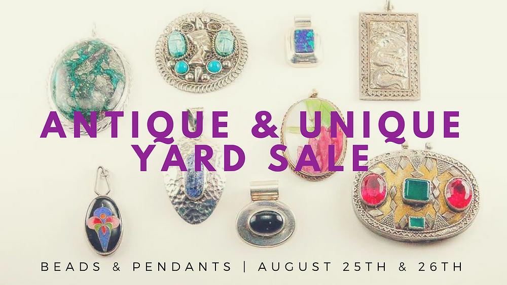 Antique & Unique Yard Sale Flyer