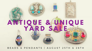 Antique & Unique Yard Sale Flyer