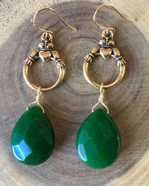 Claddagh Earrings Make and Take class