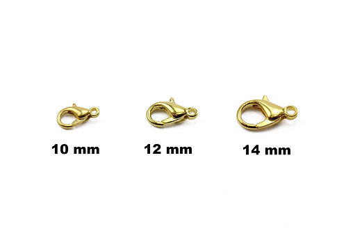 Gold Plated Clasps