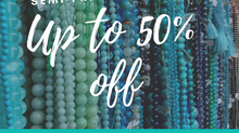 Save on Semi-precious Strands!
