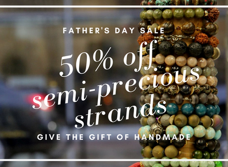 Give the Gift of Handmade Jewelry!