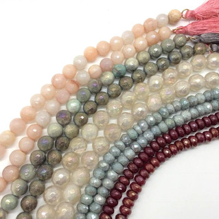 Our September strand sale! Buy 1 to 4 strands of beads and get 30% off. Buy 5 or more strands of be