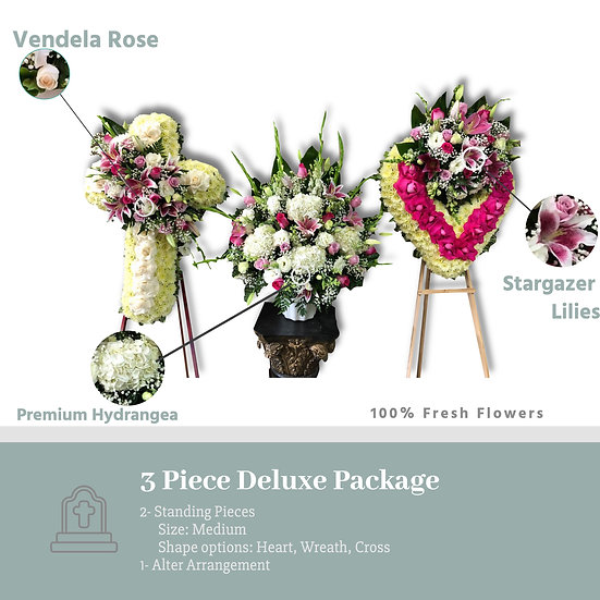 3 Piece Deluxe Package