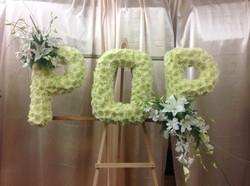 POP Flower letters