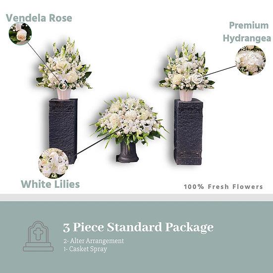 3 Piece Standard Package