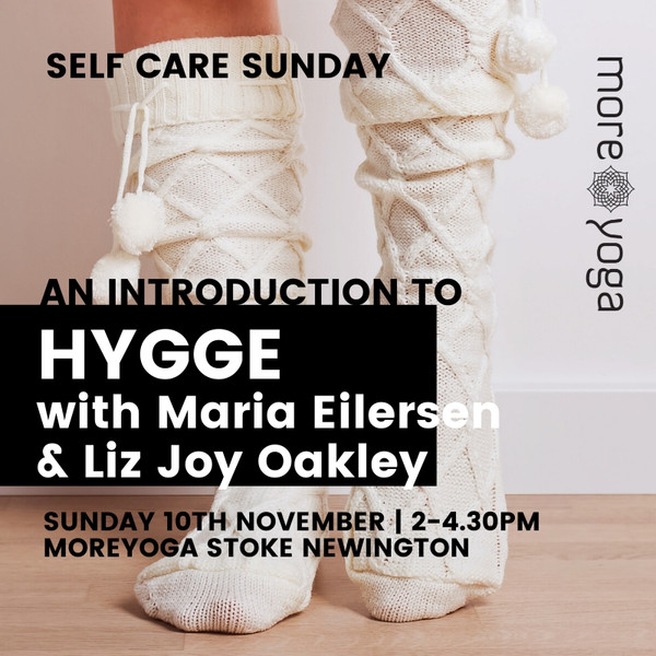 Intro to Hygge Yoga Workshop MoreYoga