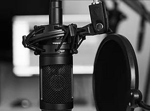 Microfone - Gravação de Podcast