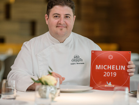 Chef Cédric Bourassin- The chef who brings new blood and a Michelin star to the EHL