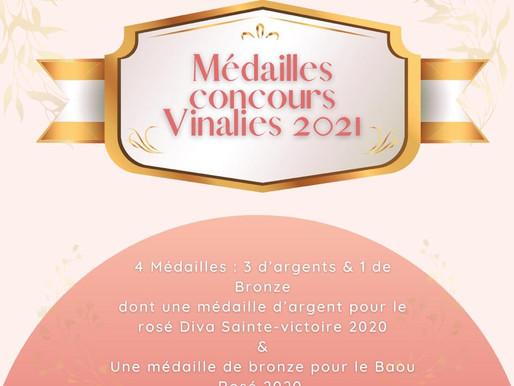 Concours des Vinalies 2021