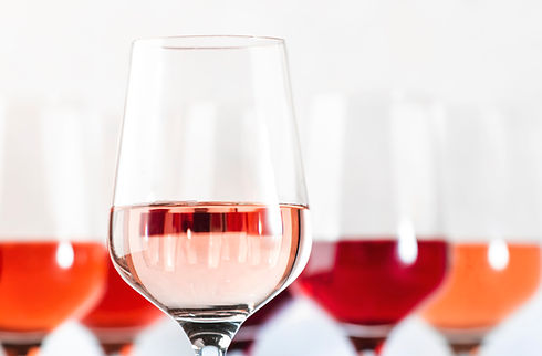 rose-wine-glasses-set-on-wine-tasting-HQ