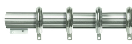 TRAVERSE FLUTED ROD WITH RINGS