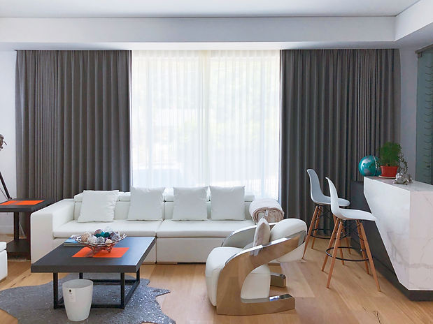 motorized curtain smart home window treatments