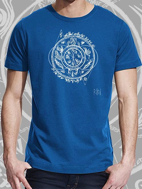 T-shirt Homhös bleu